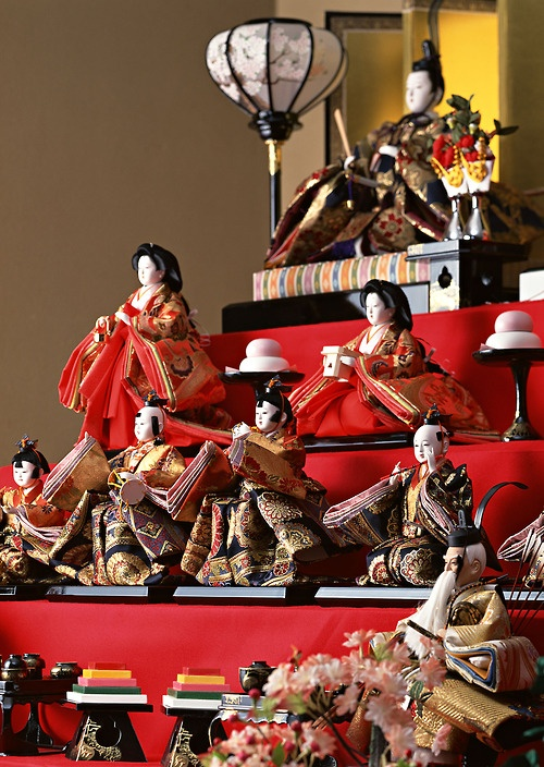 Hinamatsuri - The Japanese Doll Festival (雛祭り Hina-matsuri), or Girls' Day, is held on March 3.
