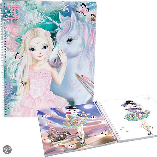 Topmodel Create your Fantasy Model Kleurboek