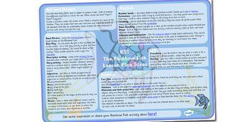 17 best images about rainbow fish on pinterest lesson for Rainbow fish lesson plans