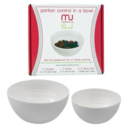 I love my measure up bowls! So great for portion control.