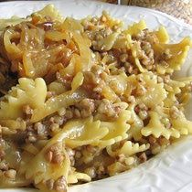 Authentic Jewish Food Recipes | Jewish Kasha Varnishkes Recipe - Recipe for Buckwheat Groats and ...