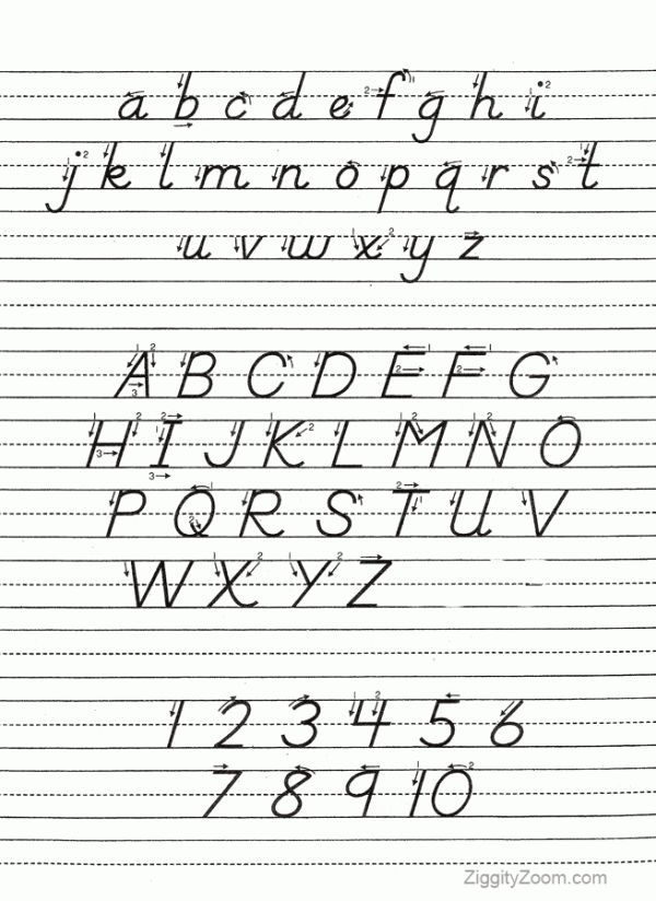 17 Best Images About D 39 Nealian Handwriting On Pinterest