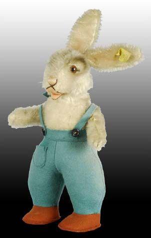 """Steiff Price Guide: Steiff 11"""" Peter Rabbit Toy"""