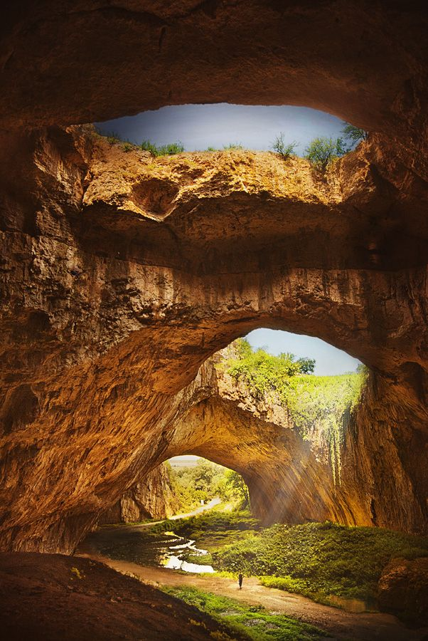Devetashka cave, Bulgaria  I want to go here!