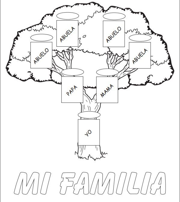 arbol familiar para ninos - Google Search