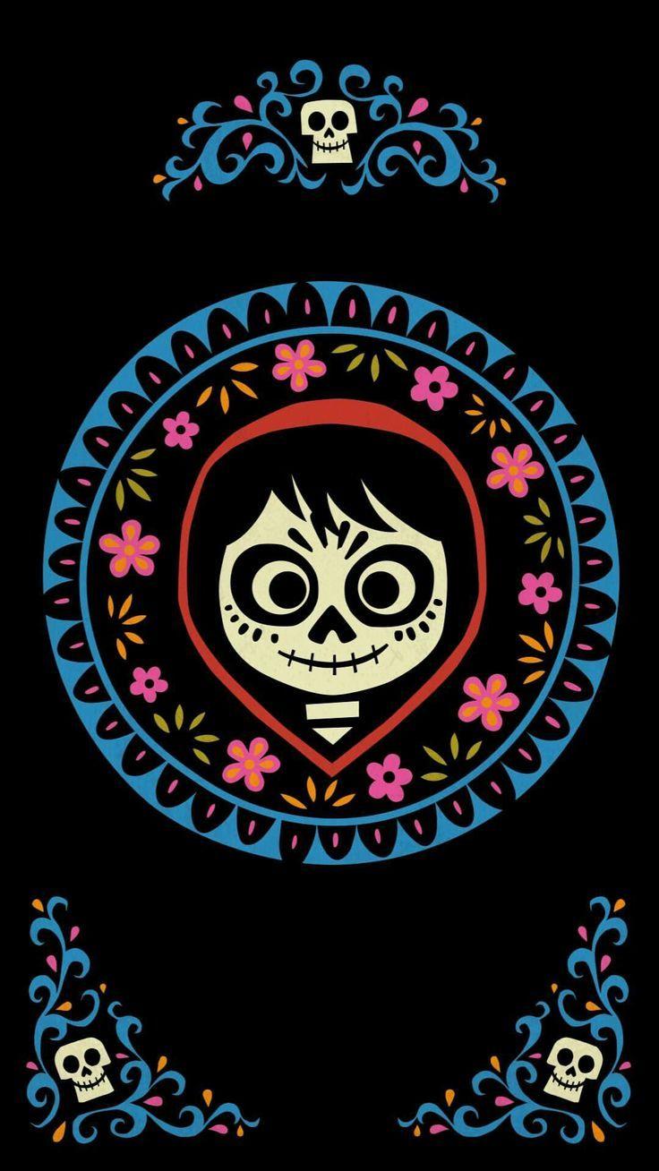 Coco Disney Fondo De Pantalla Halloween Pinturas Disney Fondos De Peliculas