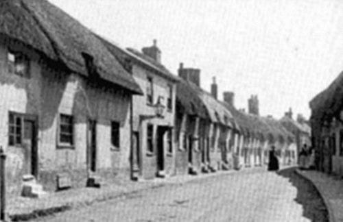 The Elephant Inn, New Street, Andover c.1900.