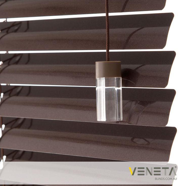 Veneta Blinds : Aluminium Blinds Colour : BRONZE