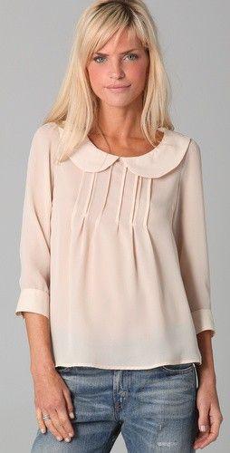 31 Days of Femininity: Finding feminine blouses for your wardrobe