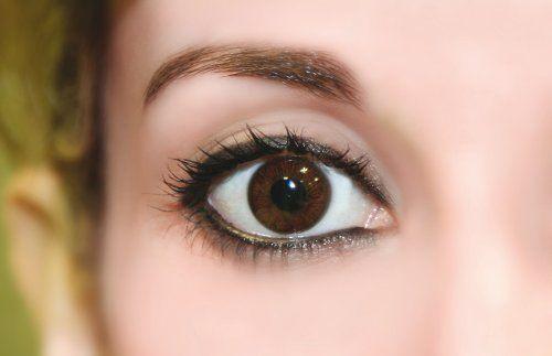Dunkelbraune Kontaktlinsen ohne Stärke 'Dark Hazel'(Tageslinsen) Marie-José Cosmetics http://www.amazon.de/dp/B00GVZAXAK/ref=cm_sw_r_pi_dp_jmzqub1FHG4ND
