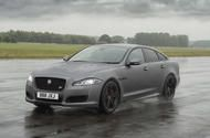Hot Jaguar XJR575 revealed as brand's most powerful production saloon yet  XJR575 is 25bhp more powerful than its predecessor  Jaguars flagship saloon receives extensive revisions and a 567bhp range-topper  Jaguar has unveiled the XJR575 the most powerful version yet of its flagship saloon in a bid to keep pace with rivals such as the Mercedes-AMG S63 and Audi S8.  First seen in camouflaged guise going up the hill at last months Goodwood Festival of Speed the XJR575 uses the F-Type SVRs…