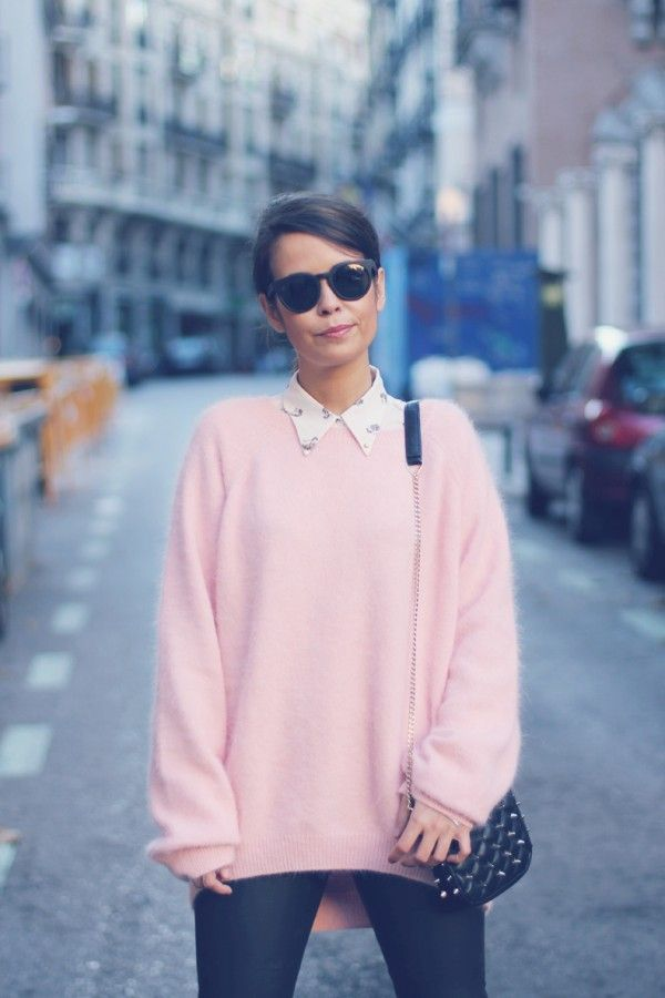 9 best Pastel pink fluffy jumpers images on Pinterest | Pullover ...