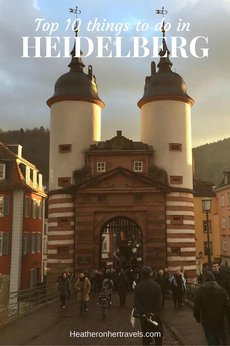 Read about the best things to see in Heidelberg, Germany