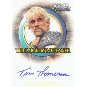 Tim Thomerson Xena | The Collector Zone - Xena B&B A31 Tim Thomerson (Meleager) Autograph ...