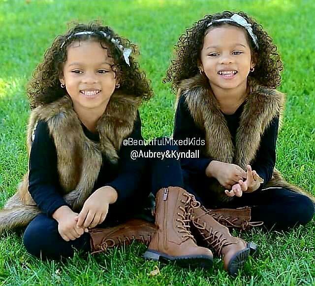 Aubrey & Kyndall - 4 Years • African American & Hispanic ❤❤