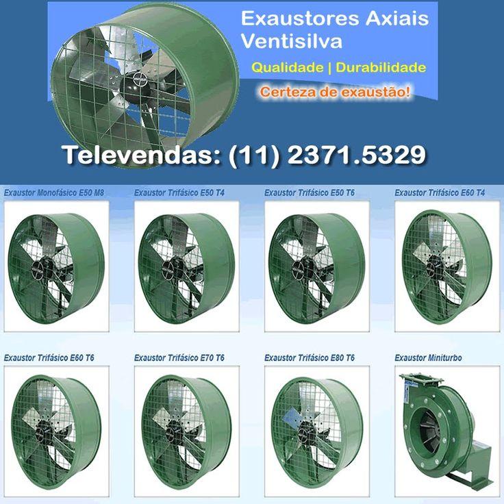 EXAUSTORES INDUSTRIAIS,EXAUSTORES AXIAIS COM CARRINHO, http www ventilad...