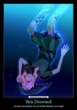 yandere!creepypastas X reader  one-shots   - Te has encontrado con un terrible destino¿no es así?-Ben drowned - Wattpad