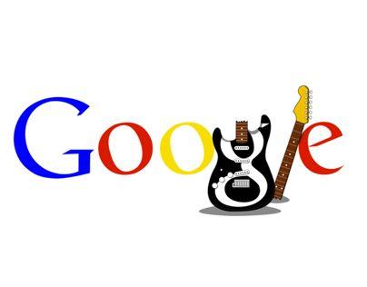 Doodle google - grunge