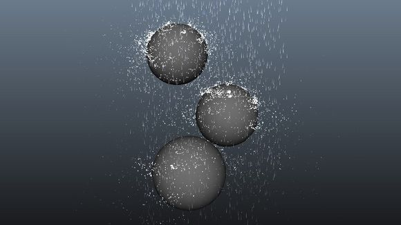Maya - Creating Realistic Rain with the Rain Tool Tutorial