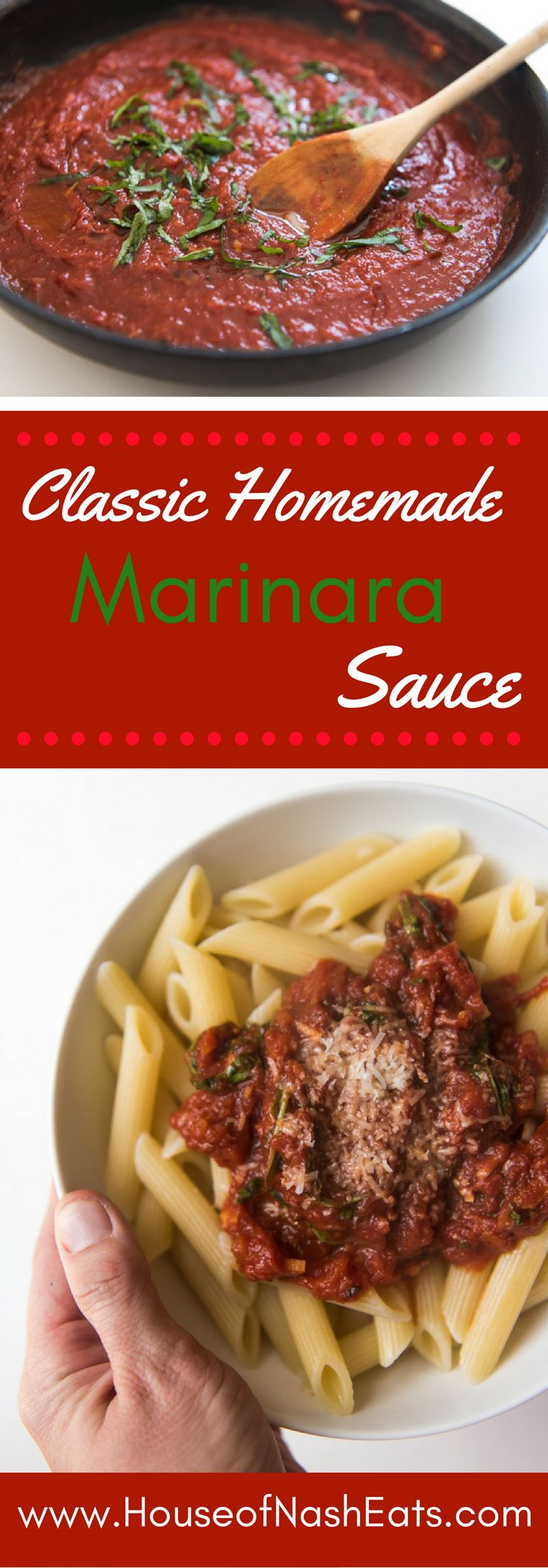 Nothing beats classic homemade marinara sauce made from scratch with crushed…