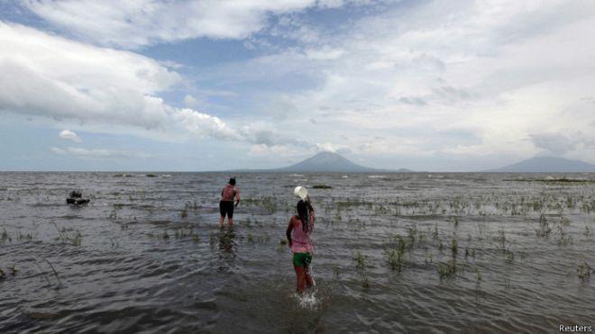 Lago Nicaragua - próximo lugar de interconexión para unir el pacifico y el caribe