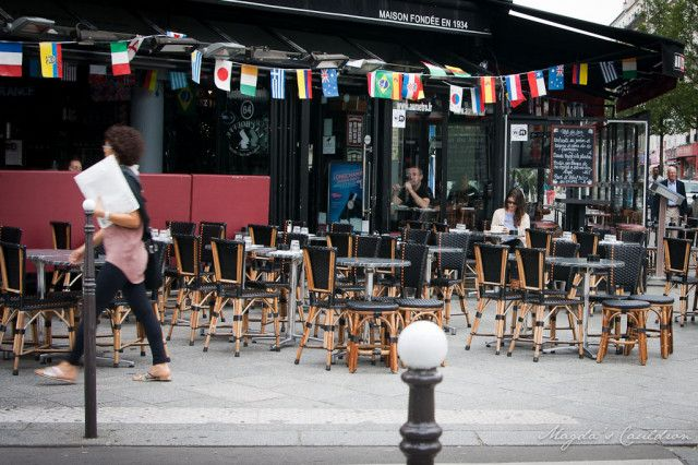 Paris - cafe