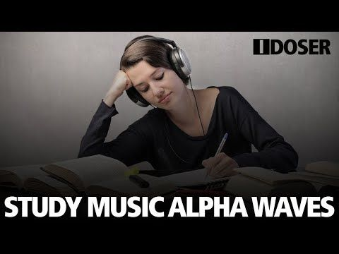 34) Study Music Alpha Waves: Relaxing Brain Focus Audio