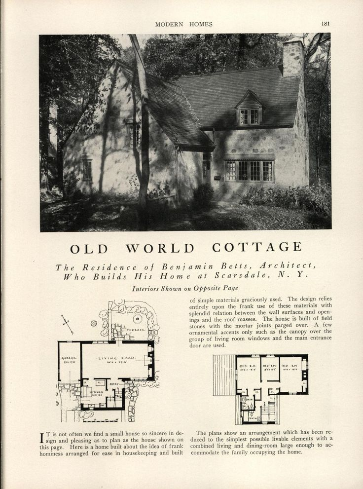 Best Old House Plans Images On Pinterest Vintage Houses