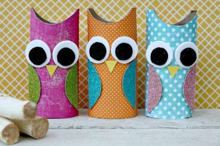recycler le rouleau de papier toilette, fabriquer des animaux en recyclant des rouleaux de papier toilette