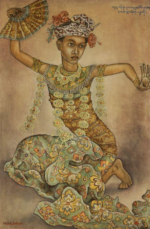 Anak Agung Gede Sobrat - Balinese danseres