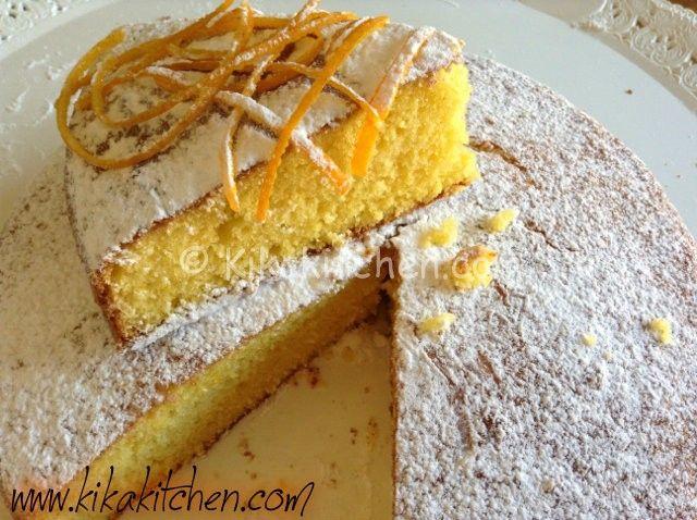 Torta all'arancia soffice e morbida   Kikakitchen