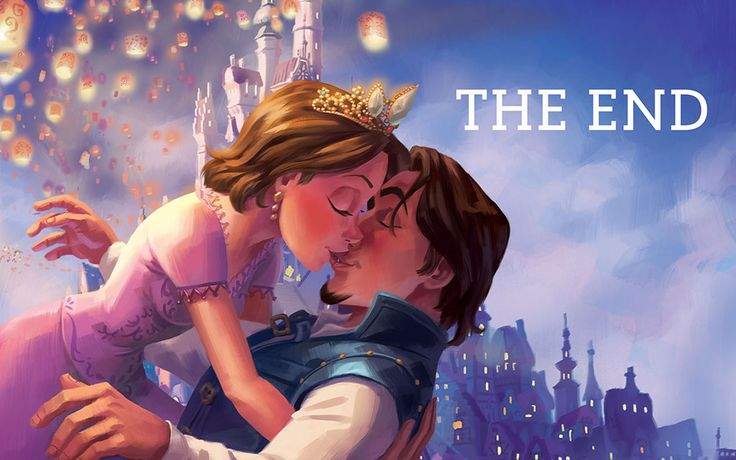 Love and rapunzel story