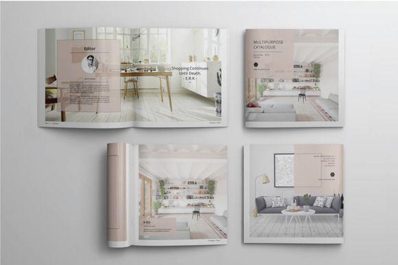 Multipurpose Catalogue Vol.I by Tiempo on @creativemarket