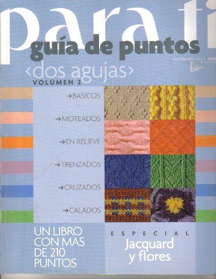 Patrones Crochet: Revista Tejer con 2 Agujas Num 2