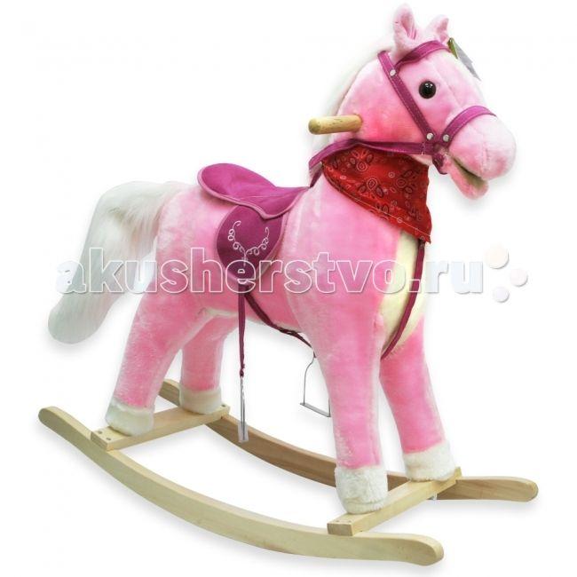 Качалка LAPA House  Лошадь Молли 68 см 31039/22918  Лошадь-качалка Молли 78x28x68 см   Детские качалки актуальны для детей примерно от 1 до 7 лет. Они являются одной из самых популярных игрушек для детей. В нашей линейке представлены как традиционные качалки в виде лошади, так и более оригинальные и яркие пони, машинки, самолеты, домашние и дикие животные.  Удобные ручки, расположенные по бокам, разработаны специально для маленьких детских ручек.