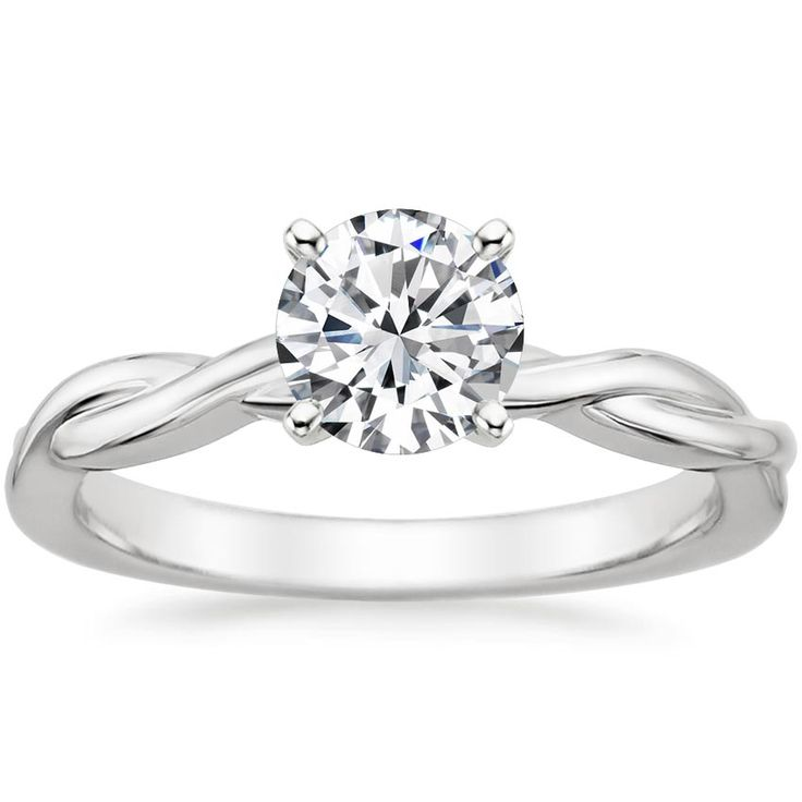 18K White Gold Twisted Vine Ring Omg I LOVE THIS RING!!! Ladies, tell Evan