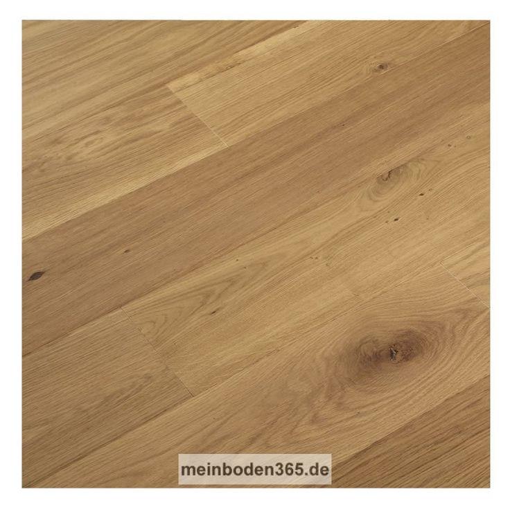 Eiche Lyon Das Parkett ist ein 3-Schicht Fertigparkett als Landhausdiele in der Holzart europäische Eiche. Es passt zu vielen Einrichtungsstilen. Die Oberfläche der Diele ist Natur lebhaft und hat einen Rohholzlook. Zudem wurde sie extrem matt lackiert. Das Parkett hat eine Nutzschicht mit einer Stärke von ca. 3,4 mm und eine umlaufende Mikrofase. Der Boden kann sowohl schwimmend mit einer Trittschalldämmung oder vollflächig verklebt verlegt werden, auch auf einer Fußbodenheizung.