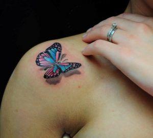 Красивые татуировки на плече для девушек | ТриТатушки