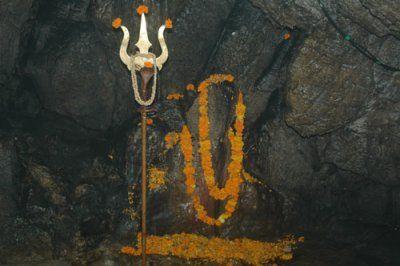 Shiv khori - Shiva Lingam-Lord Ram, Lakhshman, Sita and Hanuman. The whole cave…