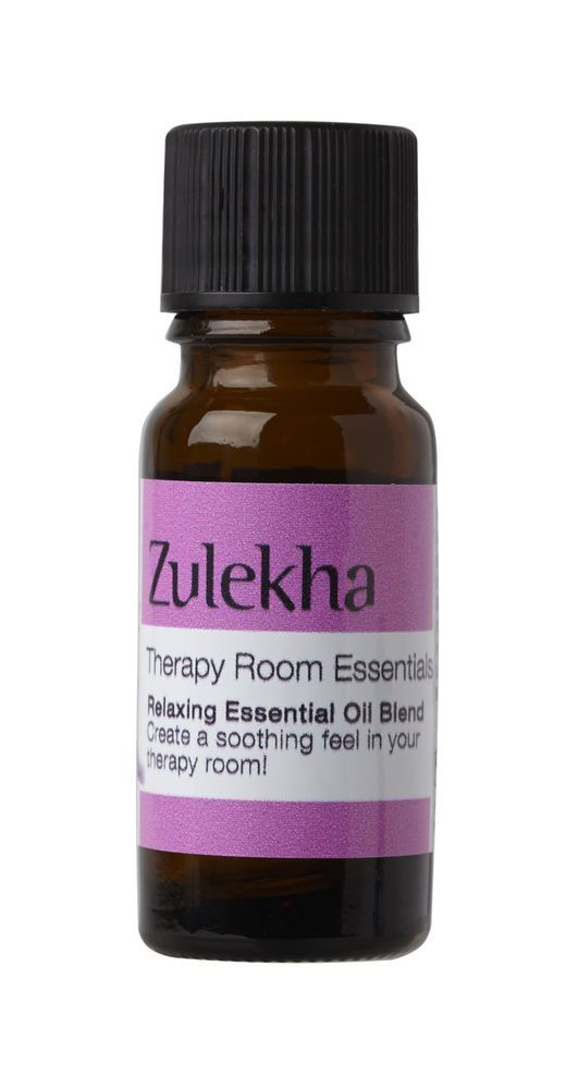Relaxing Essential Oil Blend 10ml Zulekha Aromatherapy Care Lavender
