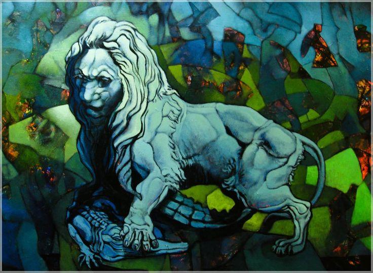 Lions paint park Isidora Cousino