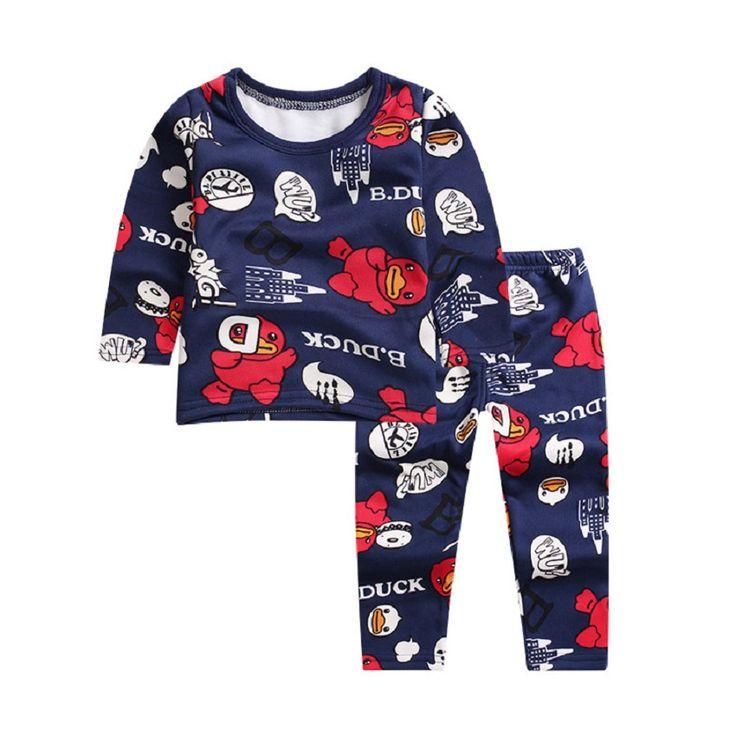 $8.81 (Buy here: https://alitems.com/g/1e8d114494ebda23ff8b16525dc3e8/?i=5&ulp=https%3A%2F%2Fwww.aliexpress.com%2Fitem%2FChildren-New-Baby-Boys-Girls-Pajamas-Autumn-Winter-Children-Top-pants-pajama-Pants-suit-Character-Pajamas%2F32740764385.html ) Children New Baby Boys Girls Pajamas Autumn Winter Children Top + pants pajama Pants suit Character Pajamas Kids Sleepwear for just $8.81