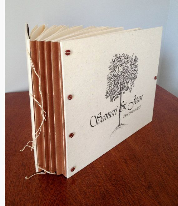 Large Personalized Wedding Album for Guest Book