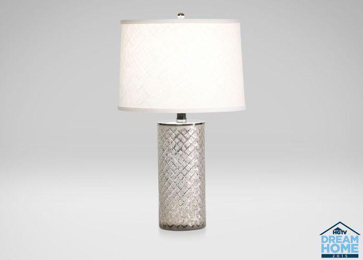 Lattice Glass Accent Lamp #EthanAllen #EthanAllenBellevue #Lighting  #AccentLighting