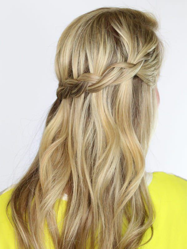 123 Schone Wasserfall Braid Frisuren Mit Tutorial Frisur Pinterest