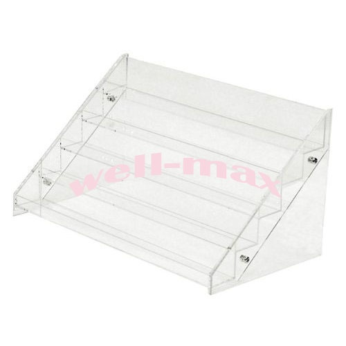 Nail Polish Display Stand Rack ,Heavy Duty Clear Acrylic ( Up to 72 Bottles ) | eBay
