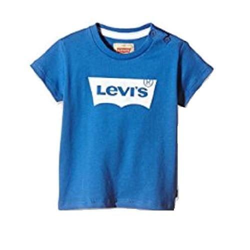 Levis Boys Blue Batwing T-Shirt
