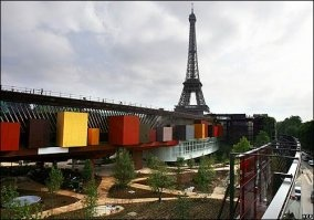 My favorite building I have ever set foot in!   Quai Branly - Jean Nouvel