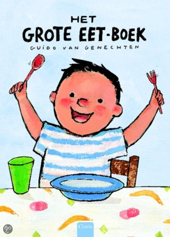 Eet Smakelijk! - Voorleesboek - Uk en Puk. Het grote eet-boek - Guido van Genechten