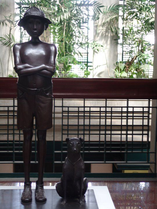 """Galería de Arte Nacional, """"El Niño y El Perro"""" Caracas, somos Venezuela!"""